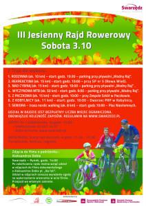 Jesieny Rajd Rowerowy 2015